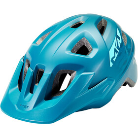 MET Echo Casque, petrol/blue matte